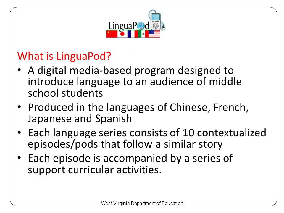 What is LinguaPod.