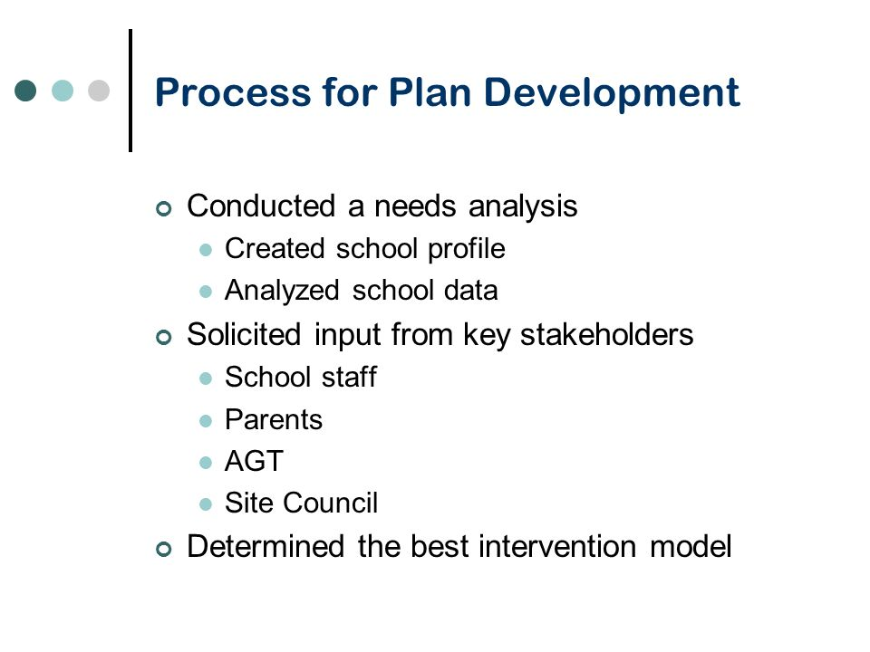 Transformation Based on student achievement results, and an analysis of the needs and challenges of Shore Acres, the Transformation model was chosen The plan targets two essential areas: Interventions to increase learning opportunities Accelerate Language Development and Literacy