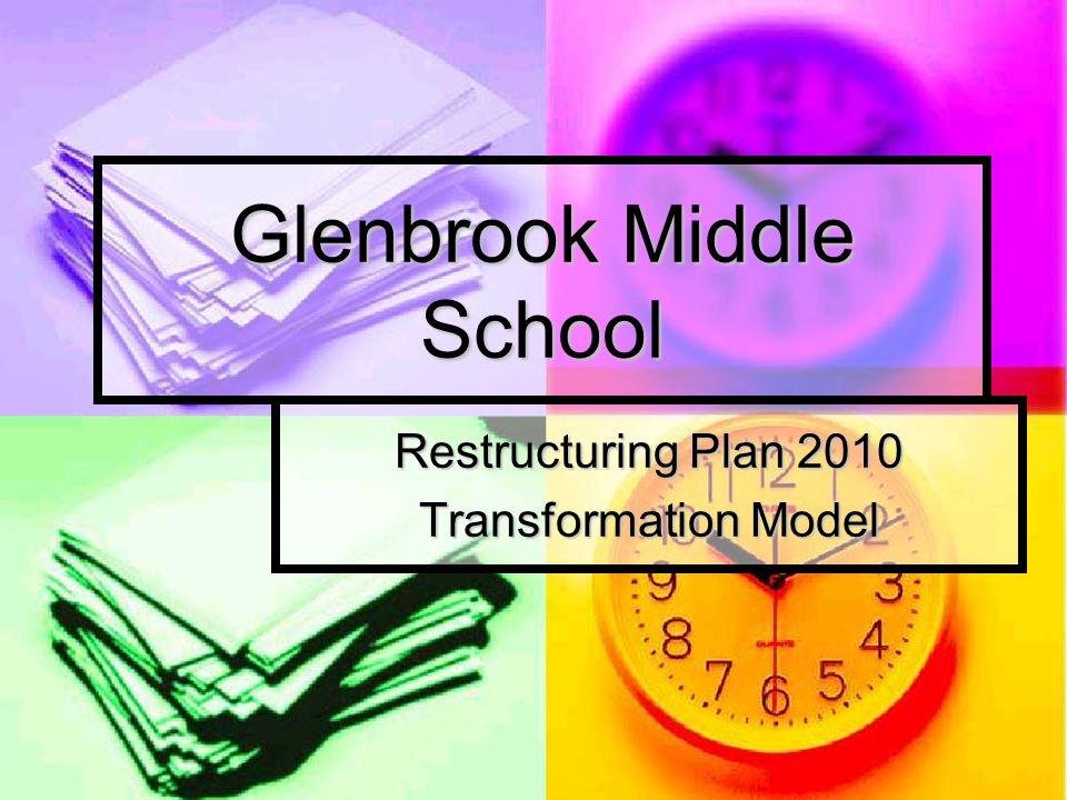 Glenbrook Middle School Restructuring Plan 2010 Transformation Model