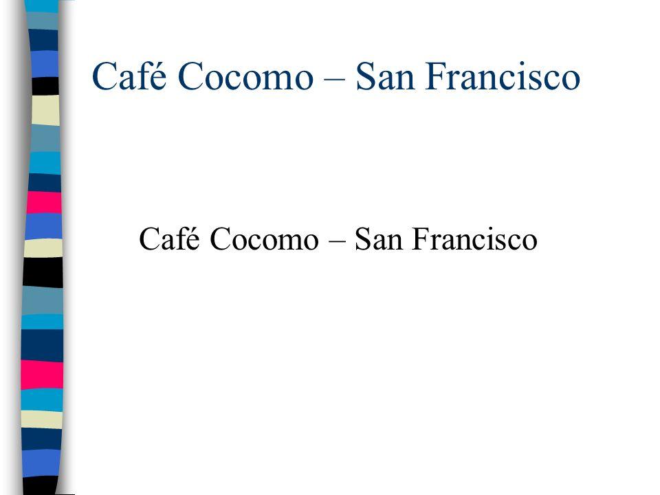 Café Cocomo – San Francisco