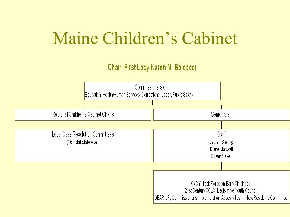 Maine Childrens Cabinet