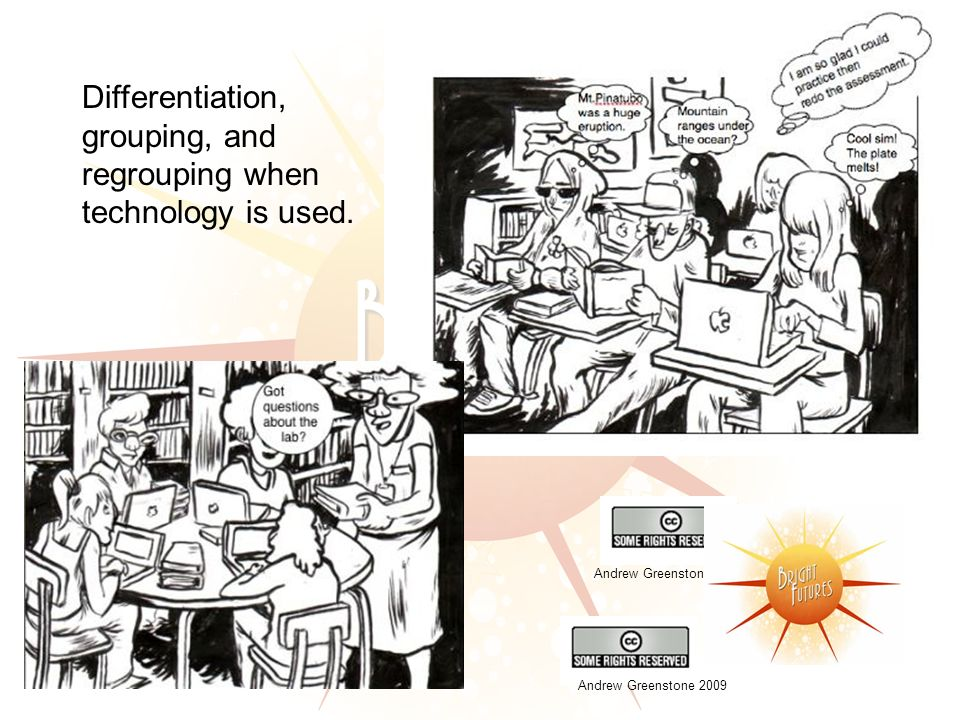 Differentiation, grouping, and regrouping when technology is used. Andrew Greenstone 2009