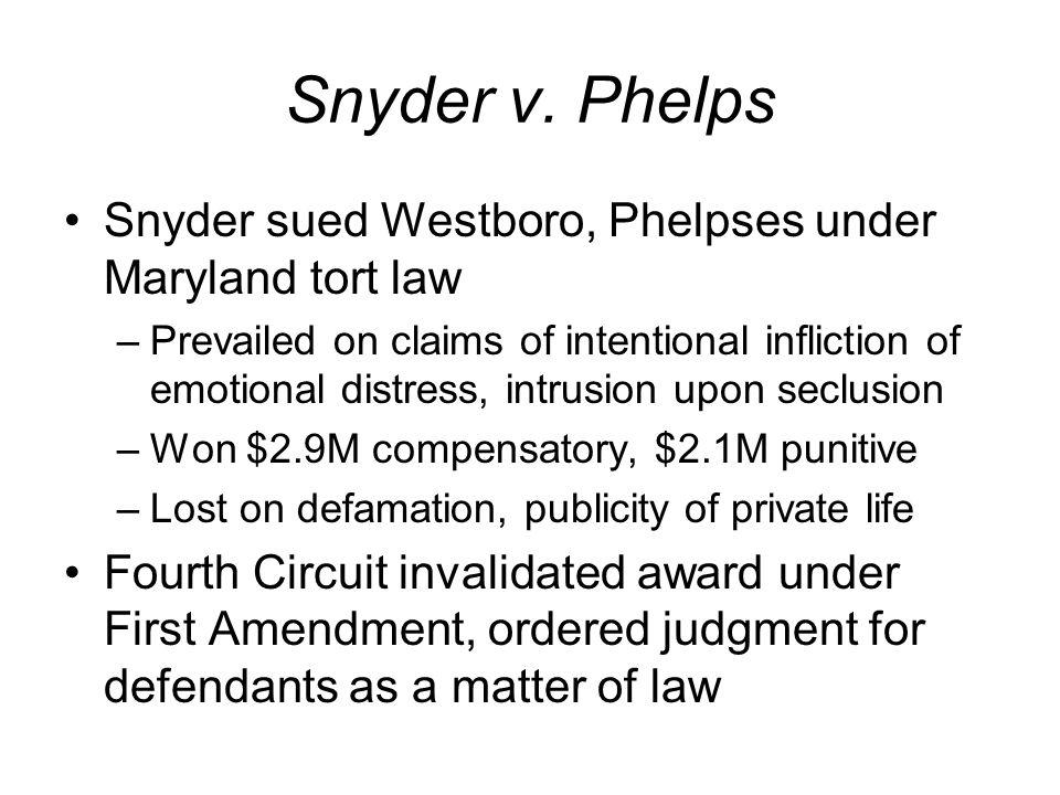 Snyder v.