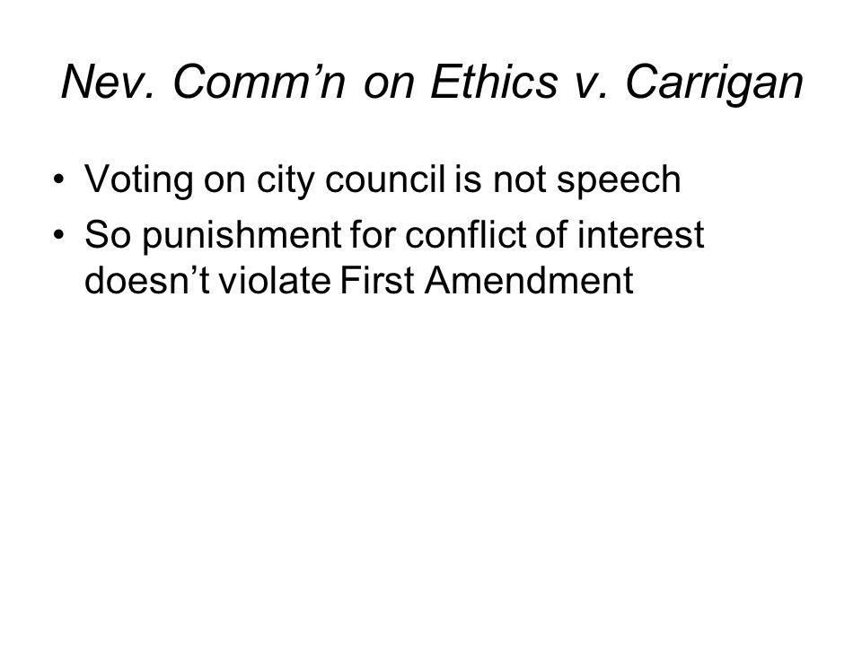 Nev. Commn on Ethics v.