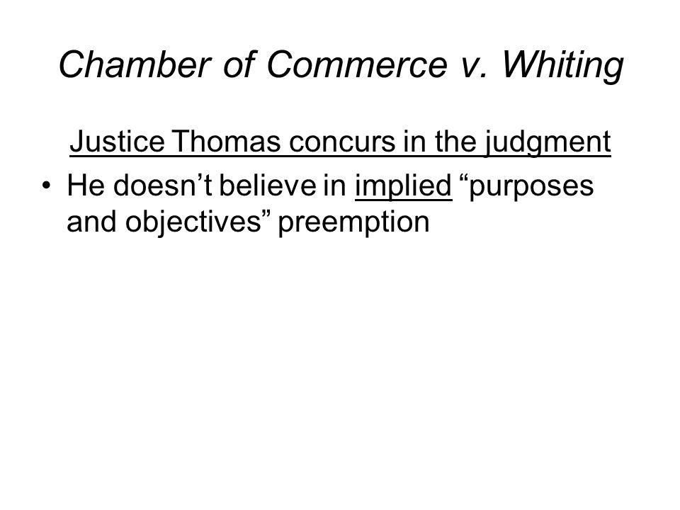 Chamber of Commerce v.