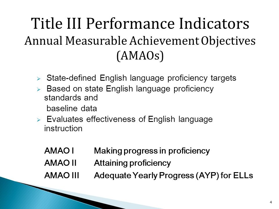 15 A student who received ESL services in a Maine school district for three years (Duration=1) obtained a proficiency level of 4 (four) on the ACCESS for ELLs® (Comp PL=4) The student has a CONCAT value of 14 (by joining the Duration and the Comp PL) and is assigned the corresponding CompIndex points from the value table.