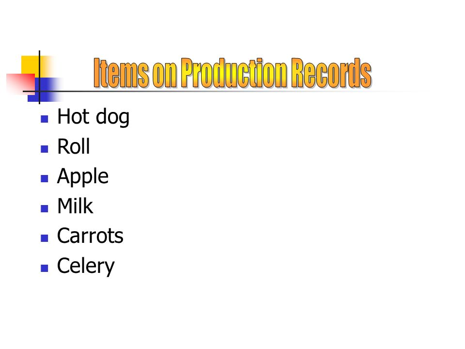 Steamed hot dog in a fresh roll Crisp carrot/celery sticks w/our dip Fresh ripe apple Cold milk