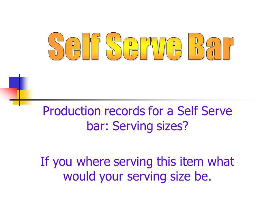 Menu Item Recipe Number QuantityPortion Size PreparedTotal number of Portions Prepared
