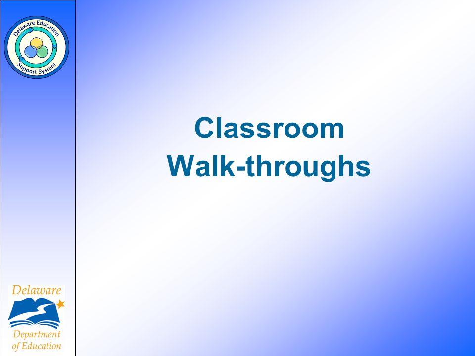 Classroom Walk-throughs