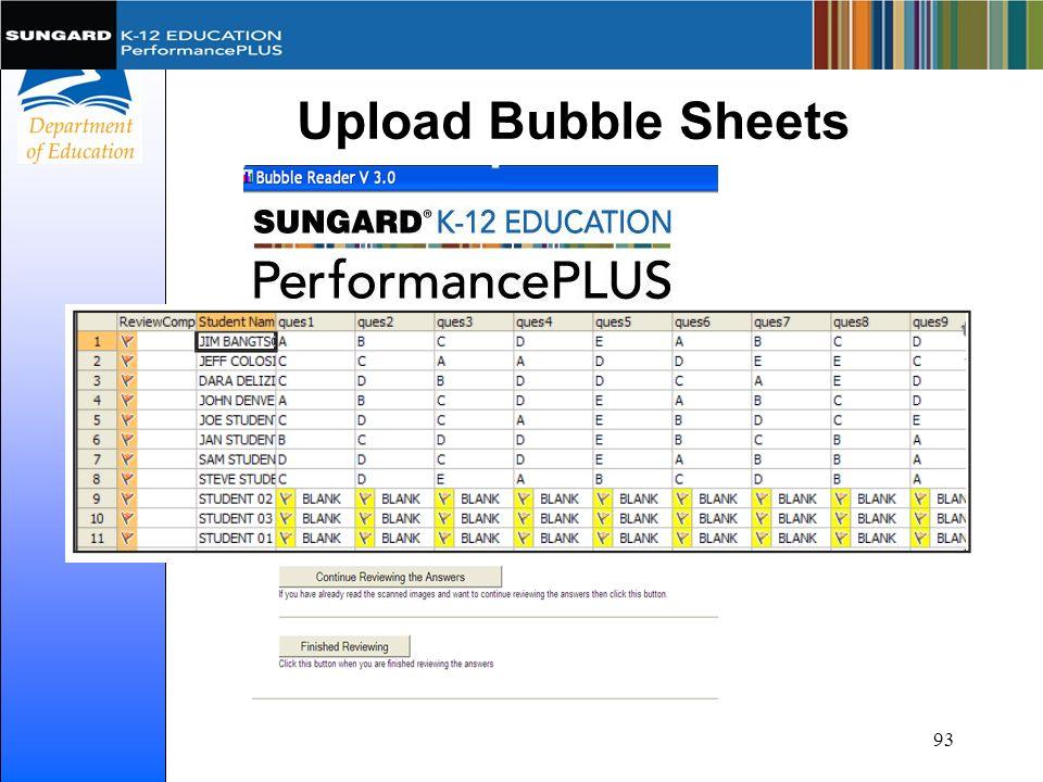 Upload Bubble Sheets 93