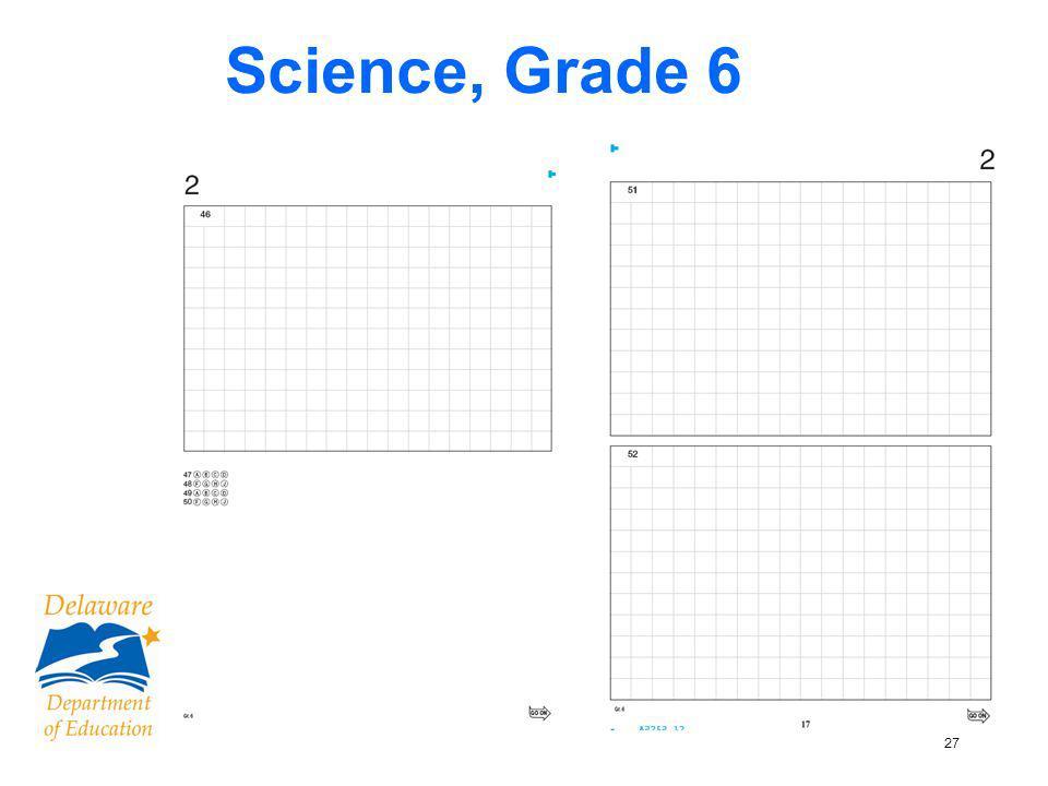 27 Science, Grade 6