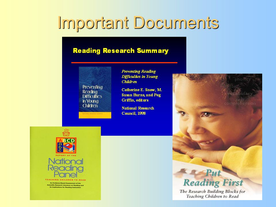 14 Important Documents