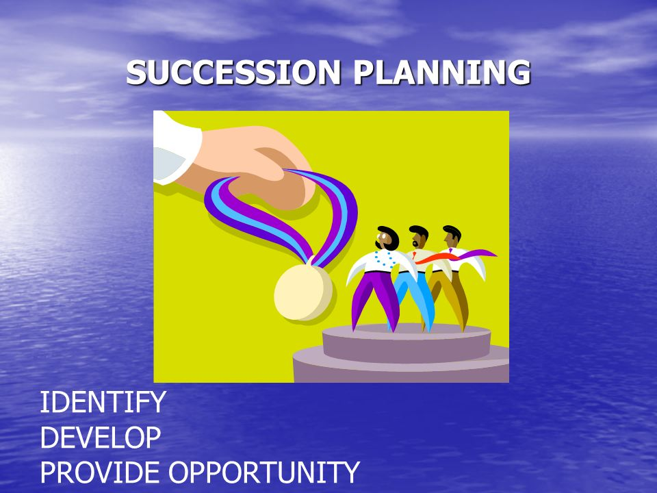 SUCCESSION PLANNING IDENTIFY DEVELOP PROVIDE OPPORTUNITY