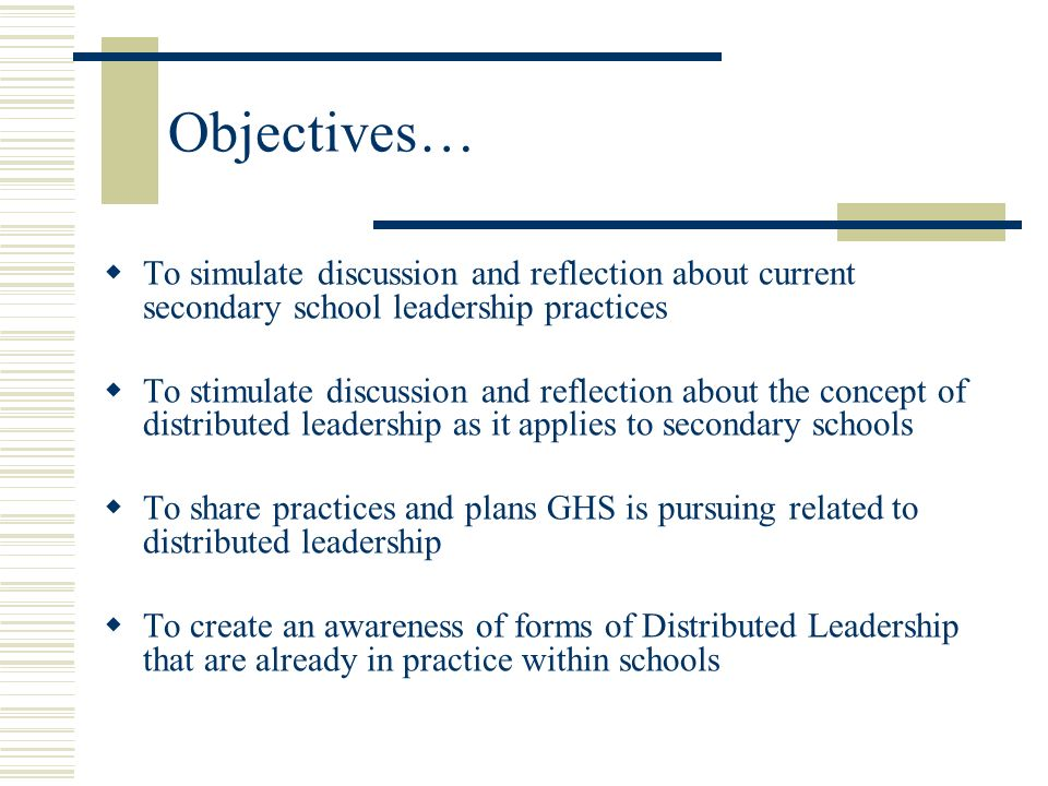 Distributed Leadership…A Tool for the School Improvement Journey Glasgow High School Presented by: Todd Harvey…Principal, Glasgow High School harveyt@