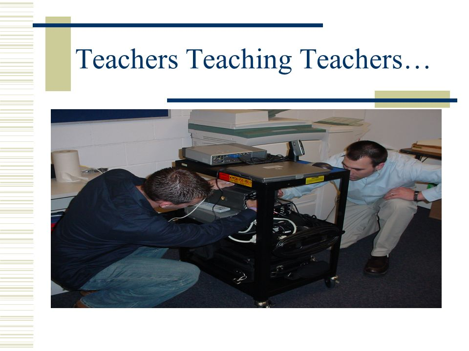 Teacher to Teacher Talk…