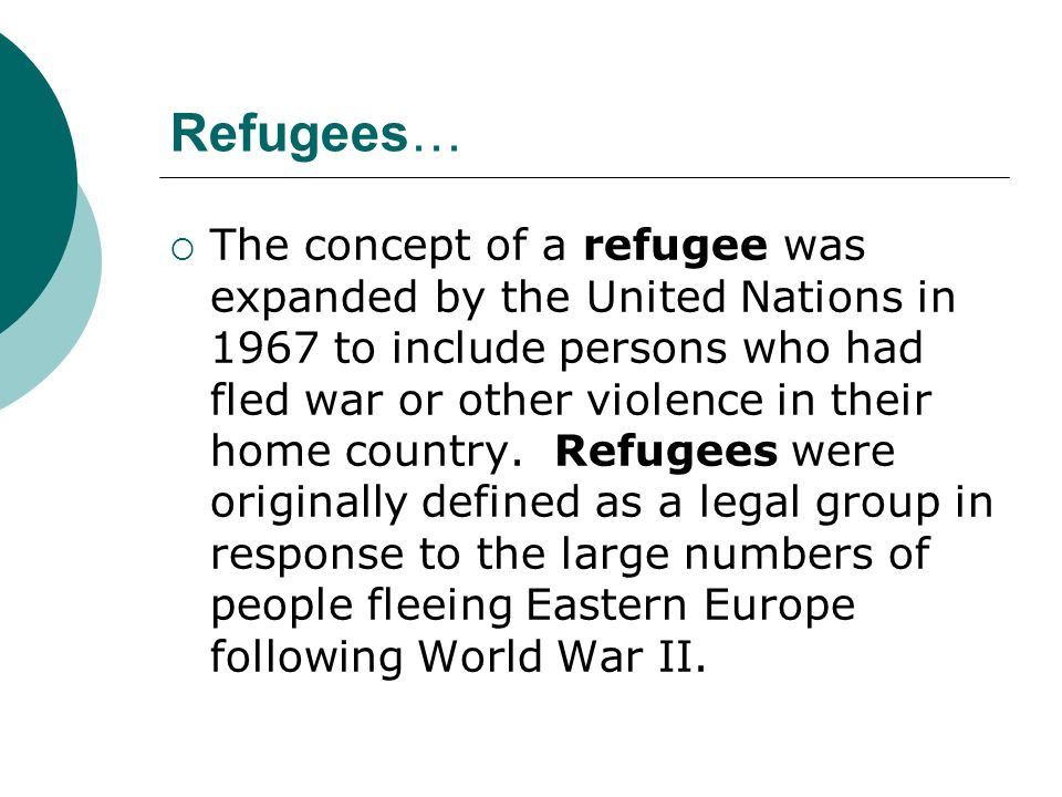Lets reconsider our thinking… In your Collaborative Pairs, Add to your list of reasons a person might be exiled, any new reasons suggested by what we just learned about refugees.