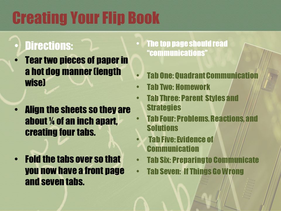 Creating Your Flip Book Directions: Tear two pieces of paper in a hot dog manner (length wise) Align the sheets so they are about ¼ of an inch apart,