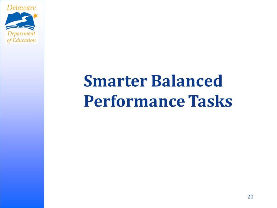 20 Smarter Balanced Performance Tasks