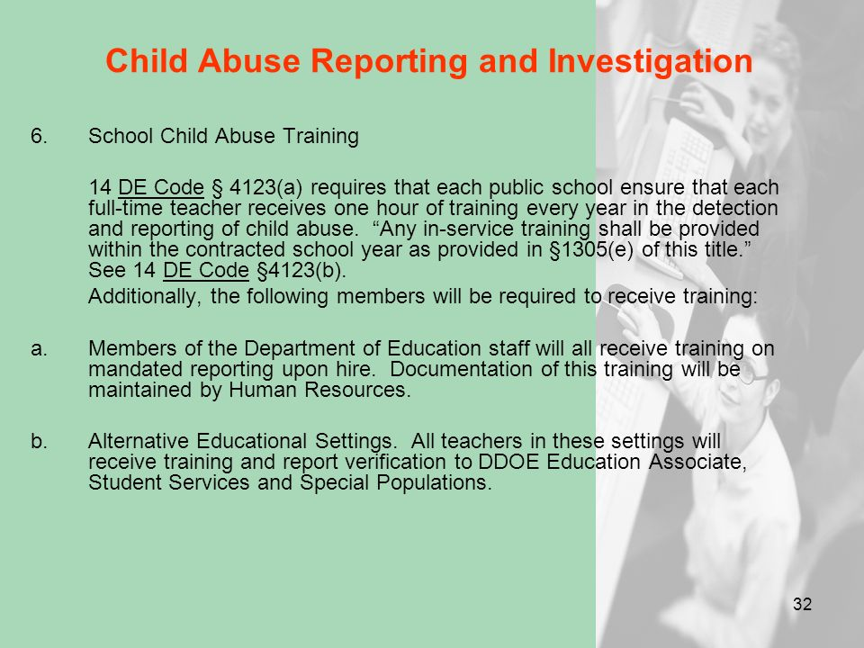 Child Abuse Reporting and Investigation Case Collaboration (Page 12) – Investigation No identified DFS caseworker Contact the Report Line and leave na