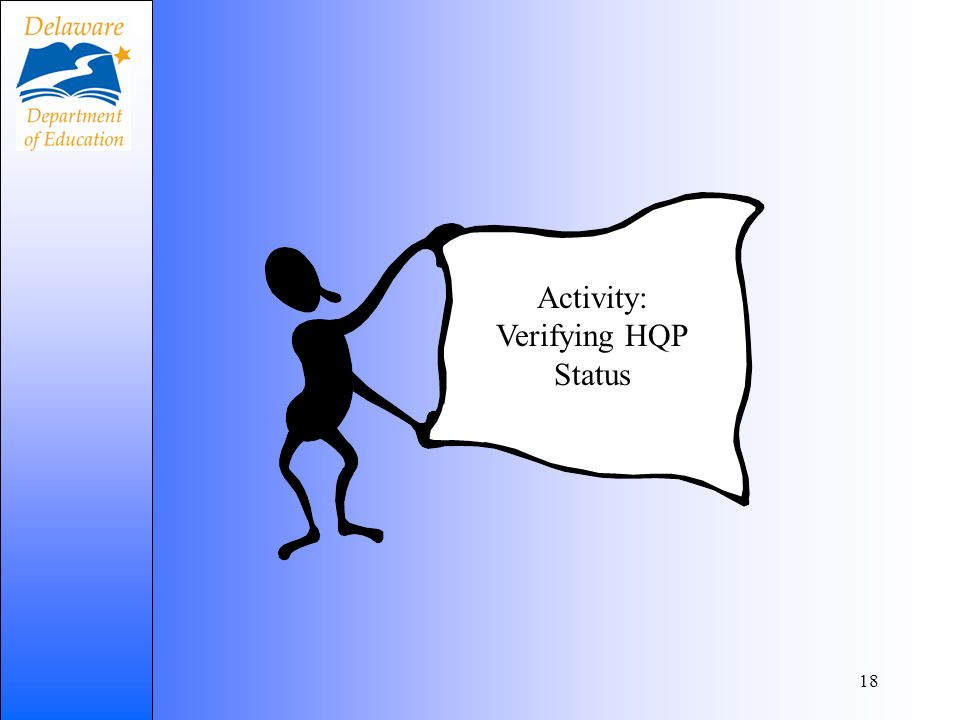 Lets 18 Activity: Verifying HQP Status