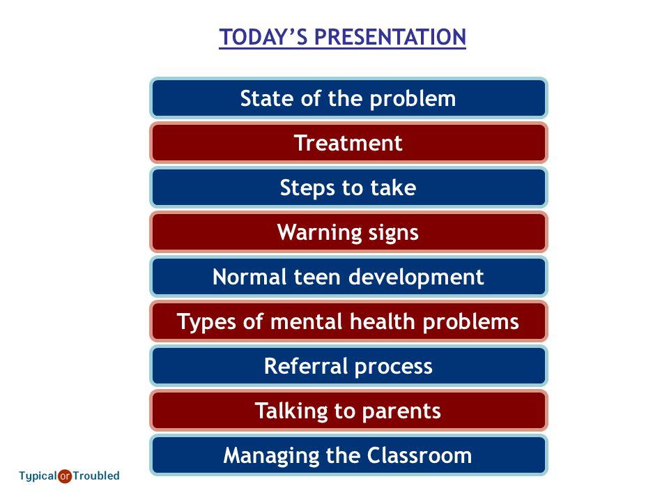 Improving Teen Mental Health Presentation for Newark High School Teachers & Staff