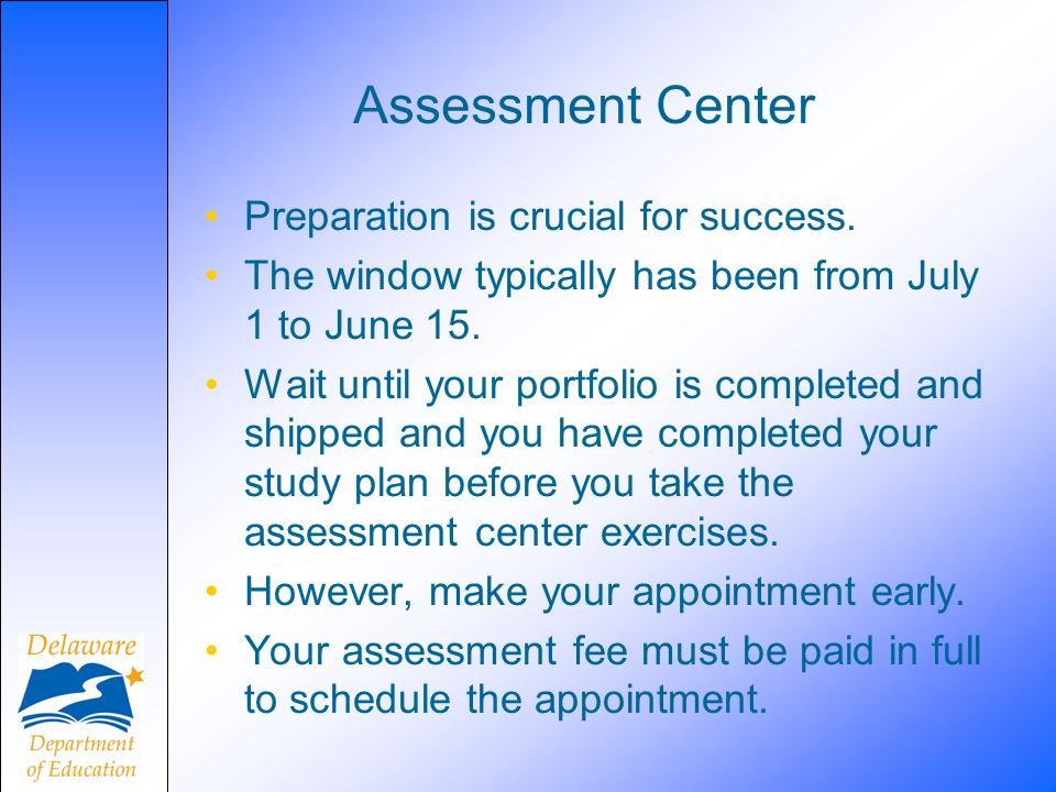 Assessment Center Preparation is crucial for success.
