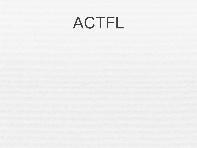 ACTFL