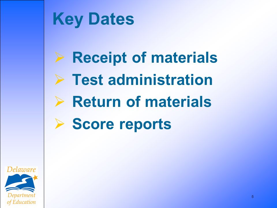66 Absences Schools are required to keep records of those who were absent from testing.