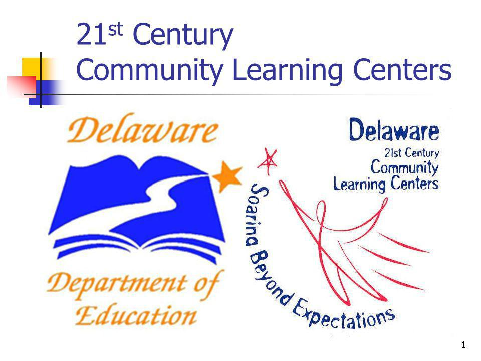 21 st Century Community Learning Centers 1