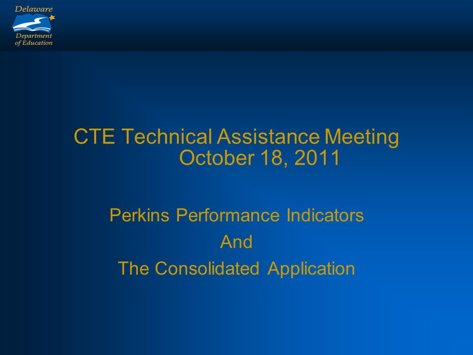 Connections Perkins Consolidated Application CAR Report Success Plan- Performance Measures