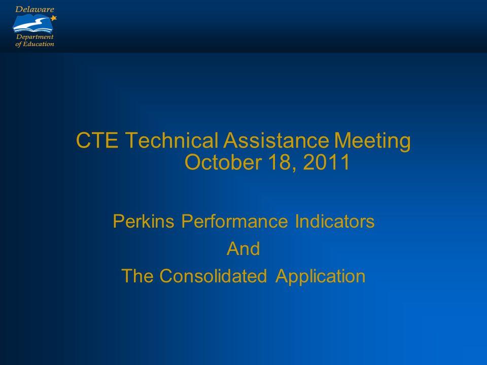 Perkins Accountability Report
