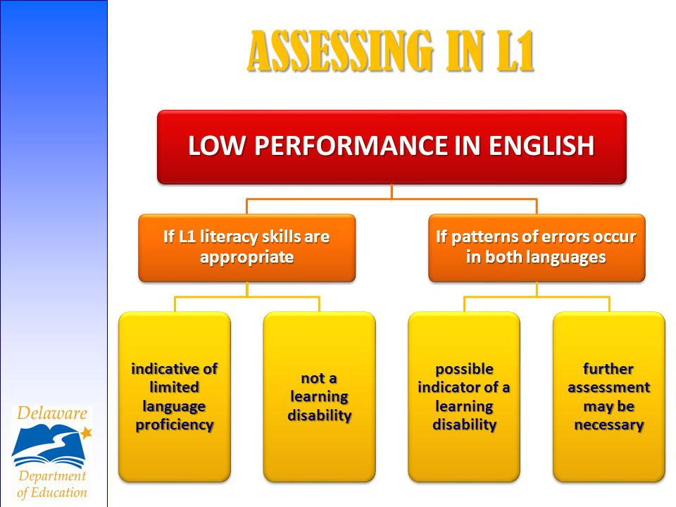 ASSESSING IN L1