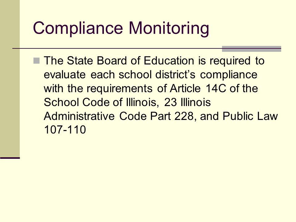 FY10 Monitoring Ilyse Leland, Bill Garcia and Sherry Johnson Illinois State Board of Education Division of English Language Learning