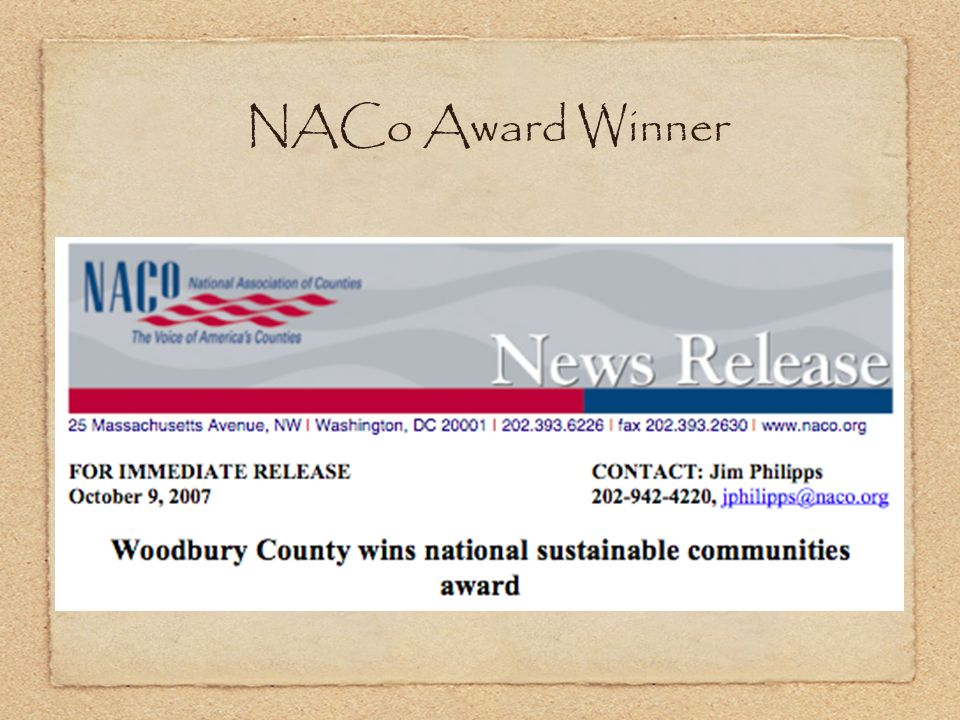 NACo Award Winner