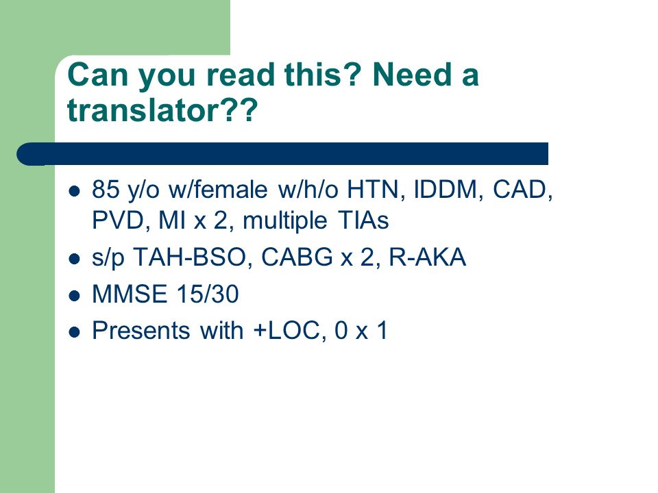 Can you read this. Need a translator?.