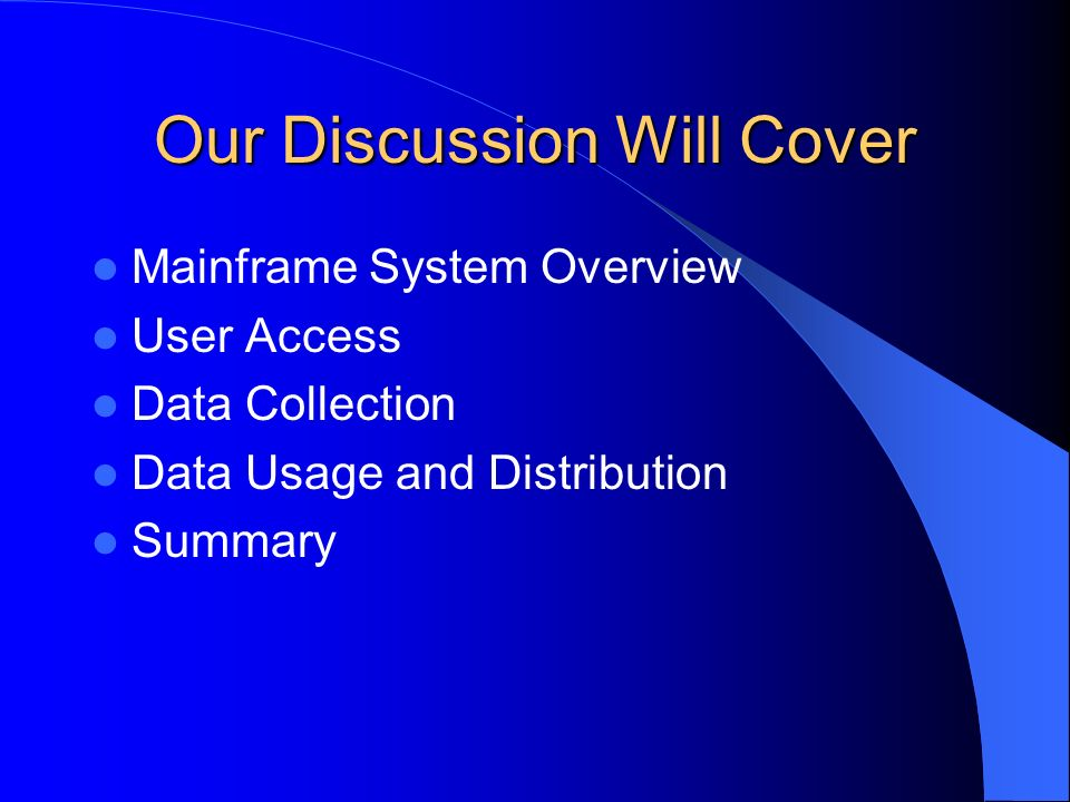 SYSTEM OVERVIEW OTS has been in production since October 1988 after a three-year development period.