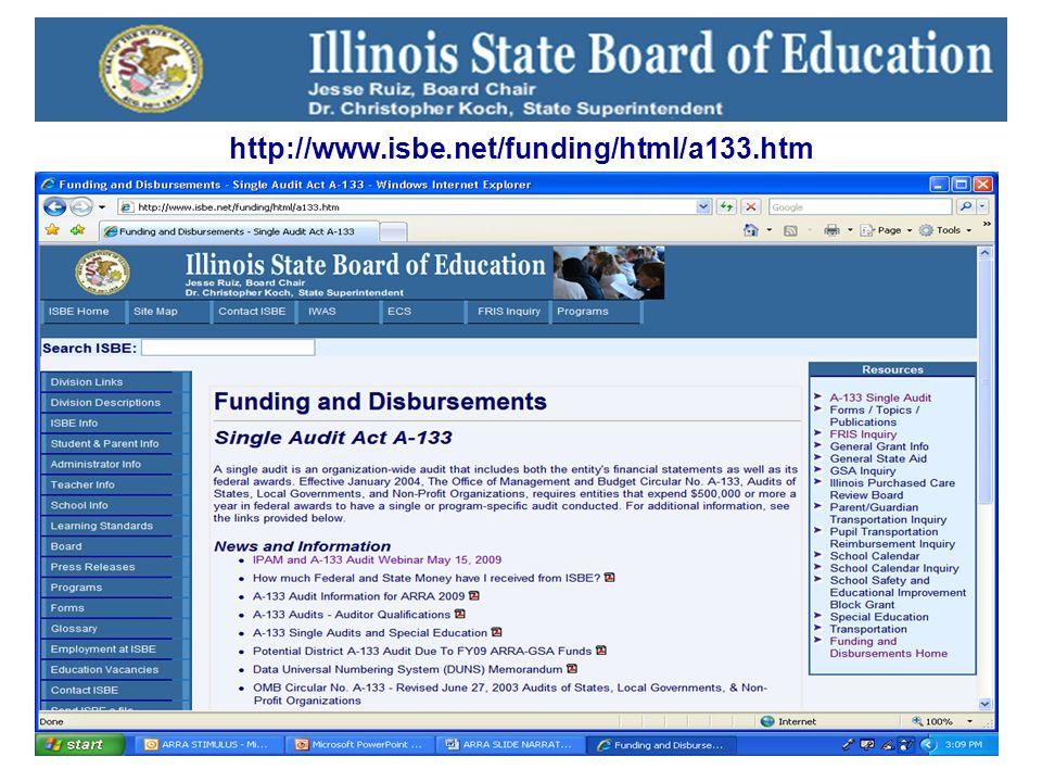 25 http://www.isbe.net/funding/html/a133.htm