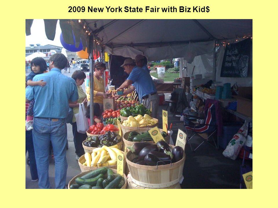2009 New York State Fair with Biz Kid$
