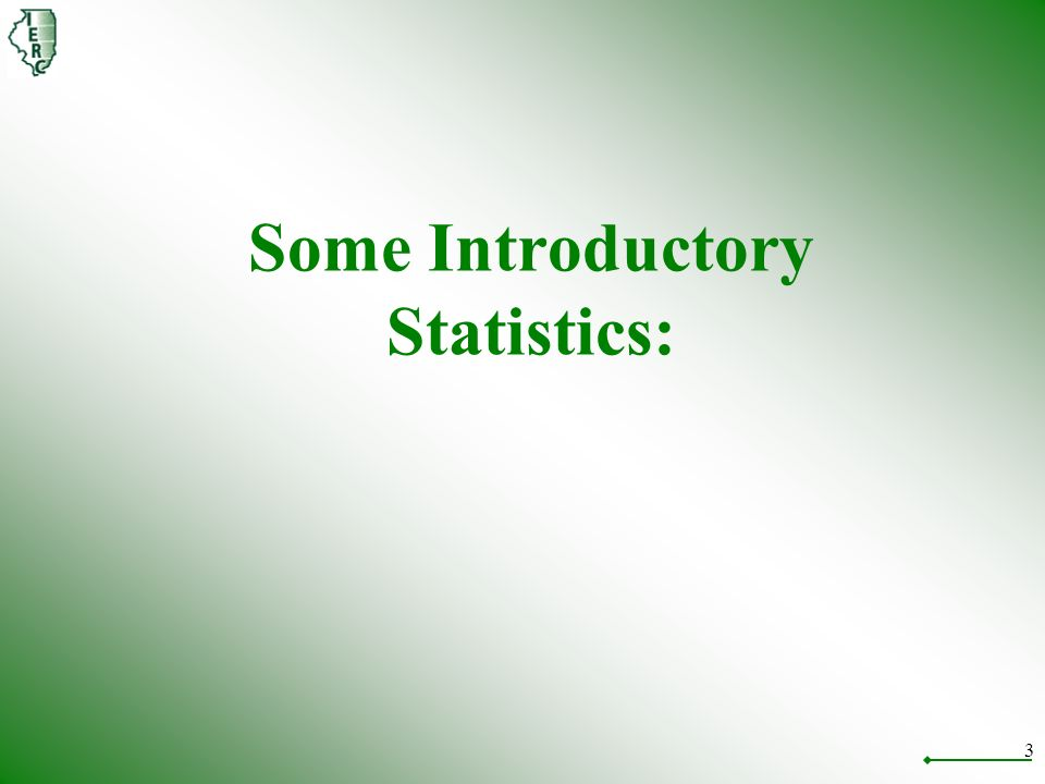 3 Some Introductory Statistics:
