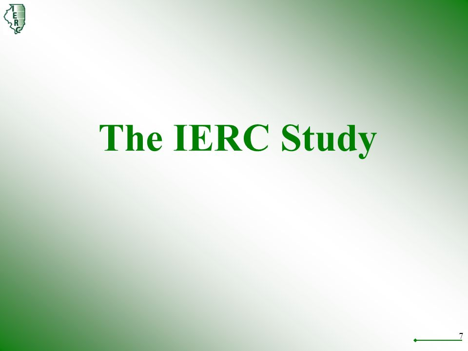 7 The IERC Study