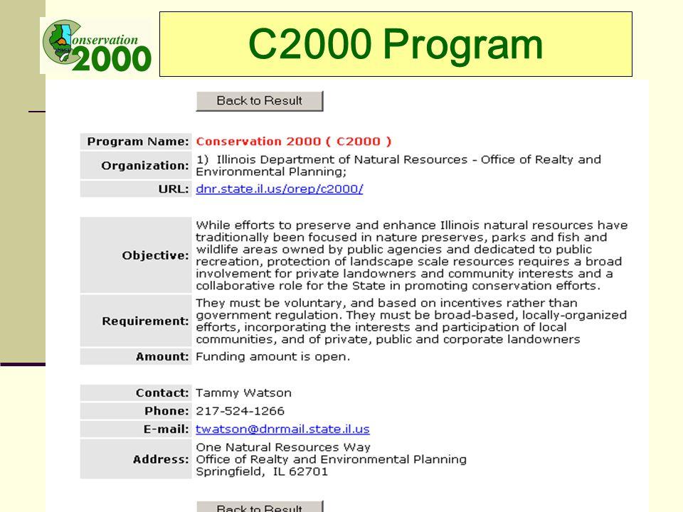 C2000 Program