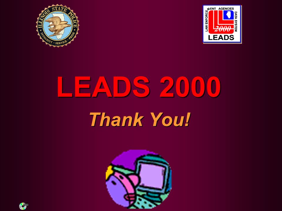 LEADS 2000 Thank You!