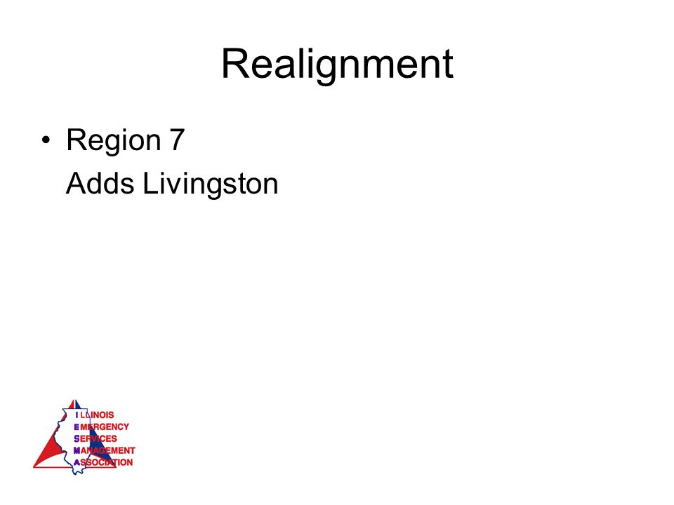 Realignment Region 7 Adds Livingston