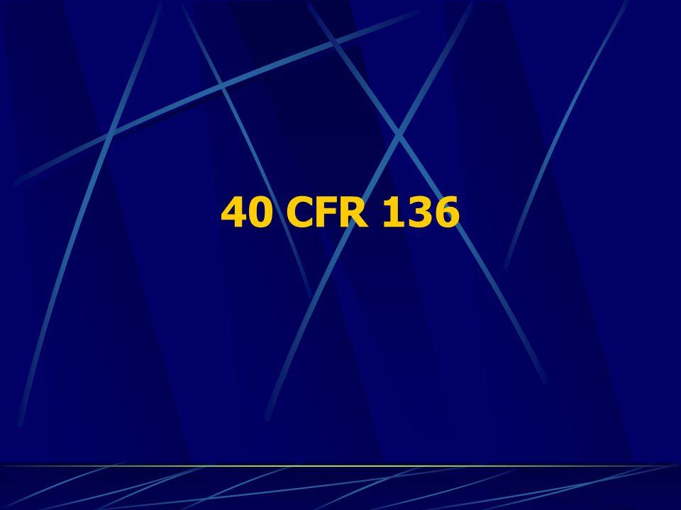 40 CFR 136