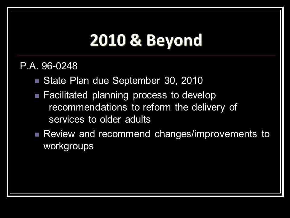 2010 & Beyond P.A.
