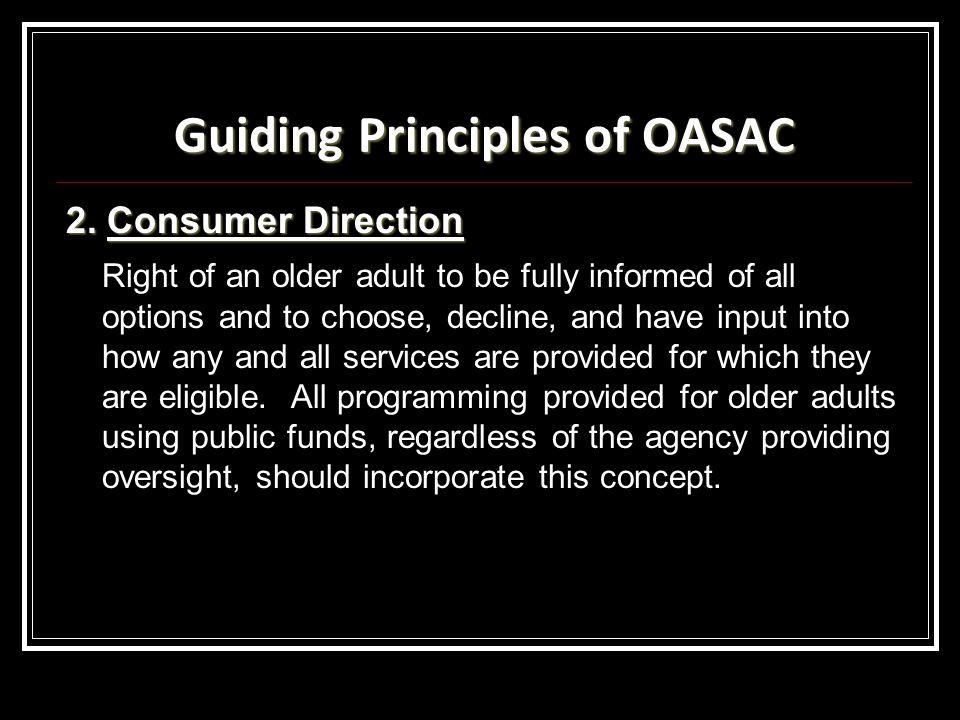Guiding Principles of OASAC 2.