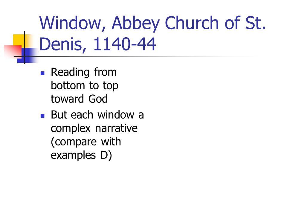 Window, Abbey Church of St.