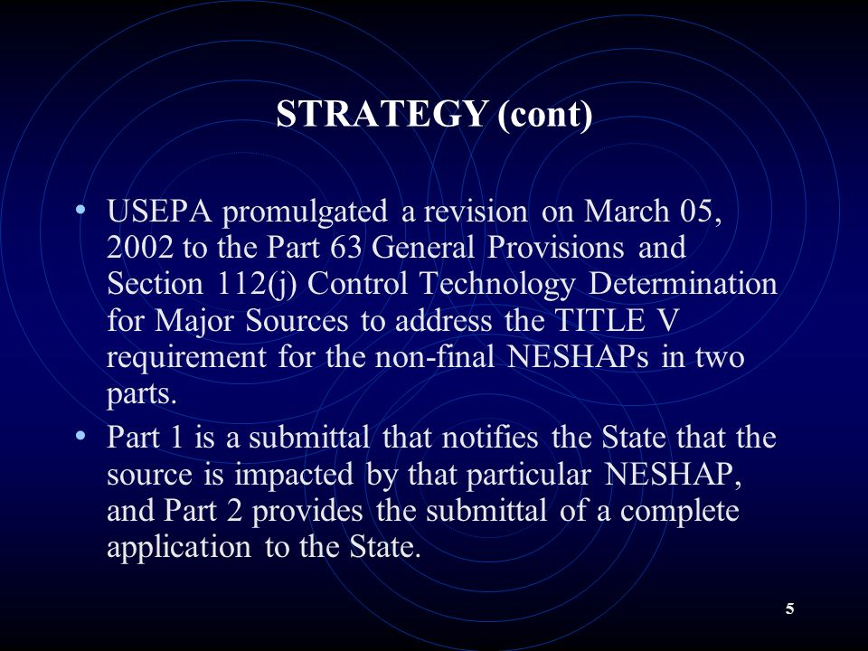 4 WHAT IS THE ILLINOIS EPA STRATEGY.