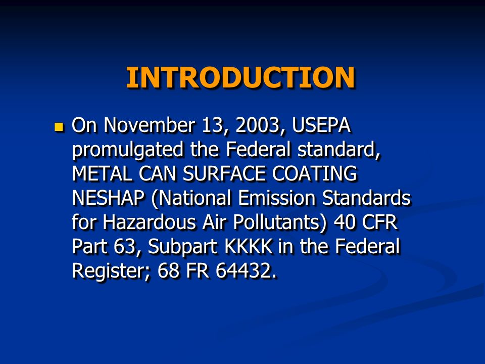 Examples (contd.) The end coating category includes: The application of end seal compounds and repair spray coatings to metal can ends, The application of end seal compounds and repair spray coatings to metal can ends, including aseptic and non-septic end seal compounds including aseptic and non-septic end seal compounds Repair spray coatings Repair spray coatings The end coating category includes: The application of end seal compounds and repair spray coatings to metal can ends, The application of end seal compounds and repair spray coatings to metal can ends, including aseptic and non-septic end seal compounds including aseptic and non-septic end seal compounds Repair spray coatings Repair spray coatings