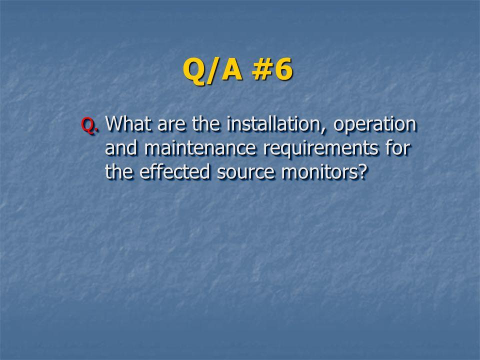 Q/A #6 Q.